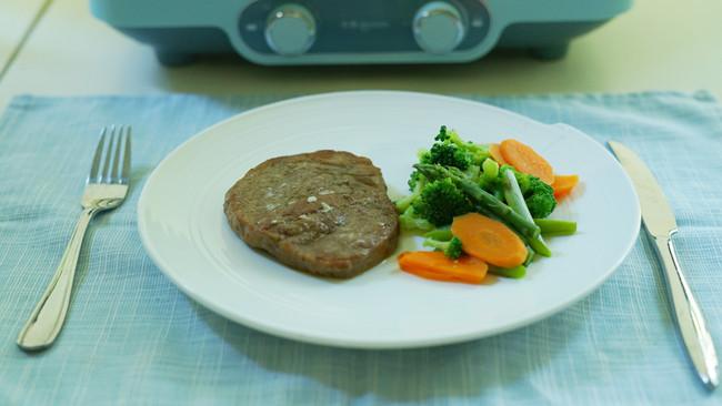 早餐机也能煎牛排的做法