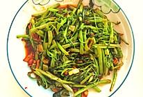 辣炒空心菜的做法