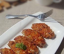 蒜香茄汁烤翅的做法