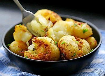 解锁街边小吃~炕土豆