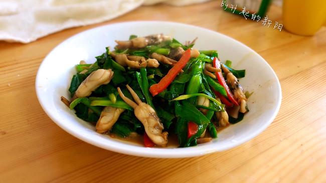 #餐桌上的春日限定#韭菜炒蛏子的做法