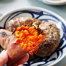 【窑烤地瓜】#快手又营养,我家的冬日必备菜品#