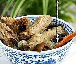 排骨炖榛蘑的做法