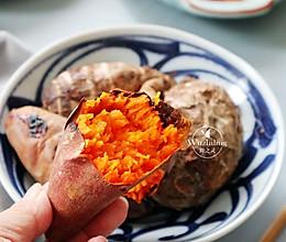 【窑烤地瓜】#快手又营养,我家的冬日必备菜品#的做法