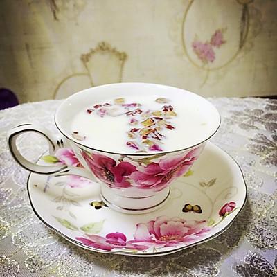 红枣玫瑰花奶茶—简单又好喝