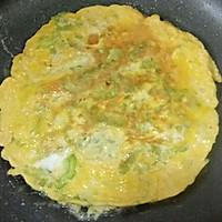 #母亲节,给妈妈做道菜#苦瓜鸡蛋饼的做法图解5