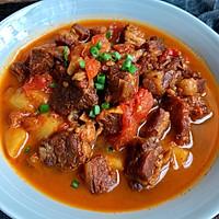 番茄土豆炖牛腩的做法图解12