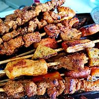 #甜粽VS咸粽,你是哪一党?#自制烧烤肉串的做法图解9