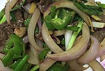 洋葱青椒牛肉片的做法