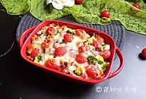 芝士焗土豆泥时蔬的做法