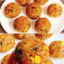 剩米饭的神仙吃法日式烤饭团