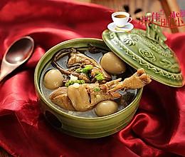 茶树菇鹌鹑蛋土鸡汤的做法