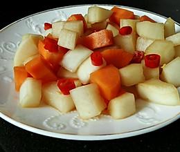 脆腌萝卜的做法