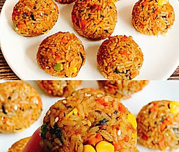 剩米饭的神仙吃法日式烤饭团的做法