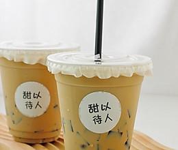 奶茶店的招牌|私房爆款黑钻烤奶的做法