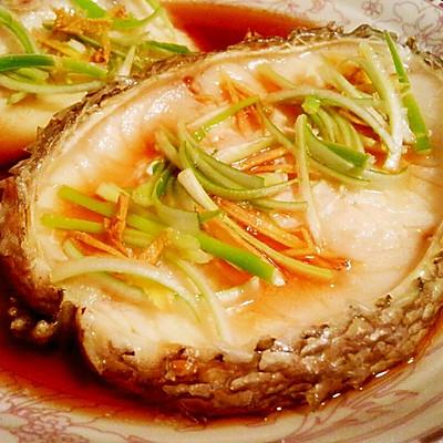 清蒸银鳕鱼