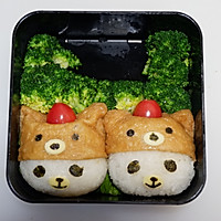 卡通睡帽小熊便当#网红美食我来做#的做法图解17