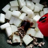 #做道懒人菜,轻松享假期#+肉末烧冬瓜的做法图解5