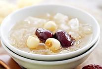 红枣银耳莲子羹(秋季去燥靓汤)的做法