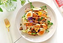 烤南瓜虾仁轻食沙拉的做法