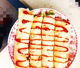 番茄沙司厚蛋卷的做法