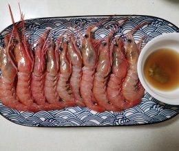 生呛红虾的做法