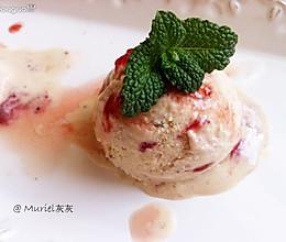 草莓冰激凌+附草莓果醬的做法的做法