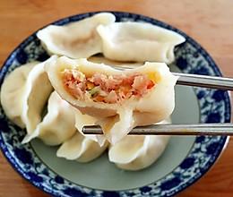 胡萝卜玉米猪肉水饺的做法