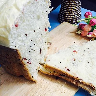 东陵T06K面包机菜谱-超柔软亚麻籽蔓越莓吐司
