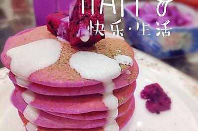 火龙果三部曲(酸奶捞、奶昔、松饼)—开启粉色好心情