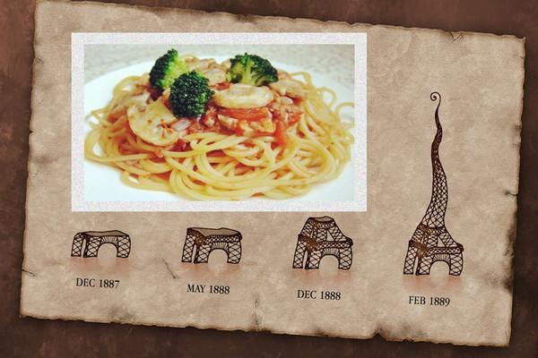 蘑菇肉酱意面的做法