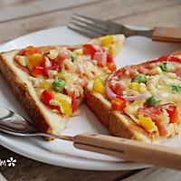 吐司批萨-5分钟搞定超简易的营养早餐的做法图解9