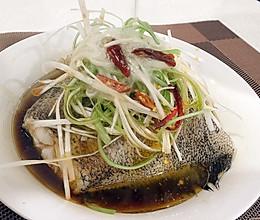 豉油蒸鸦片鱼的做法