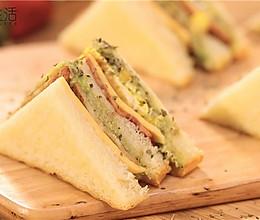 营养早餐--牛油果吞拿鱼三明治的做法
