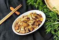 里脊肉焖腐竹的做法