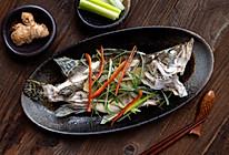 超简单年夜菜系列【清蒸鳜鱼】,教你自制蒸鱼豉油的做法