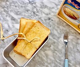 黄油蜂蜜面包片#安佳黑科技易涂抹软黄油#的做法