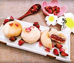 玫瑰花饼的做法