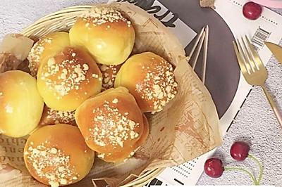 南瓜酥粒面包