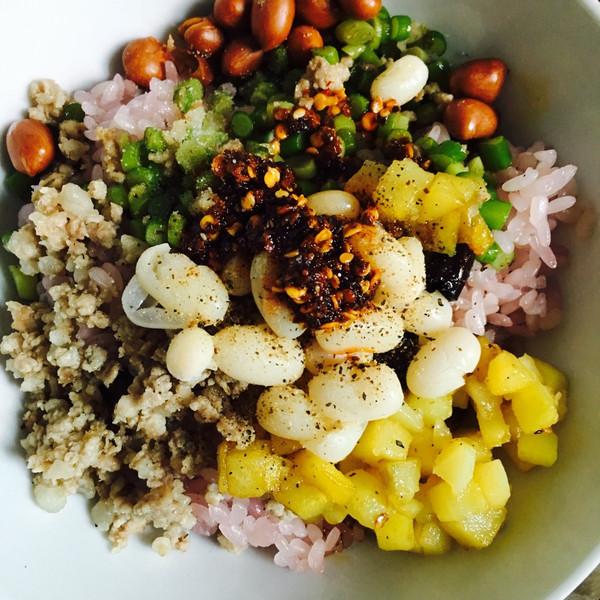 贵州名小吃----三合汤的做法