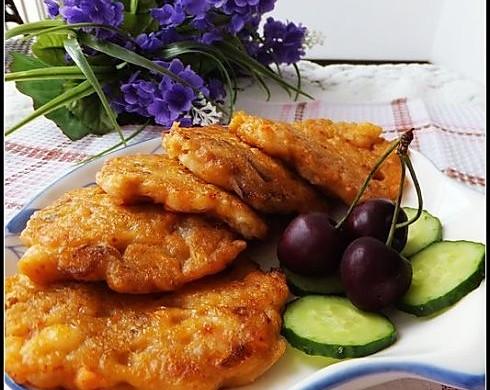 泡菜海鲜煎饼