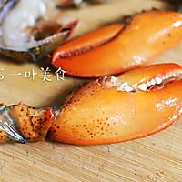 蒜蓉粉丝蒸波士顿龙虾的做法图解7