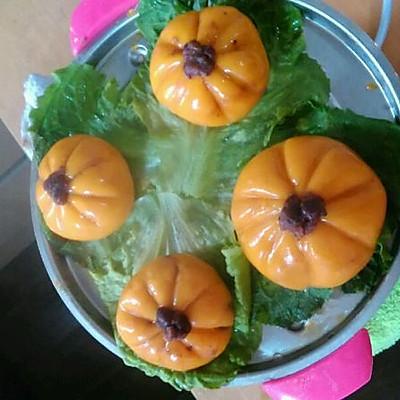南瓜红豆糯米糍