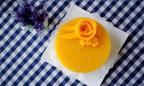 6寸芒果慕斯蛋糕的做法