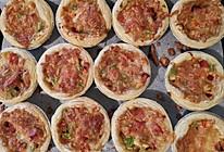 快手三步懒人早餐蛋挞皮披萨的做法