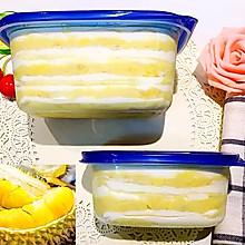 榴莲千层蛋糕盒