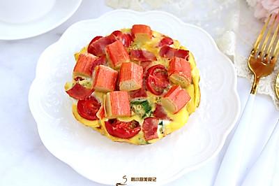 低脂燕麦蔬菜披萨