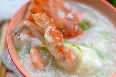 如何快速熬好一锅鲜美的【海鲜螃蟹粥】