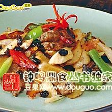 牛肉片炒杏鲍菇