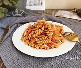 番茄海鲜意面(简单快手版)的做法